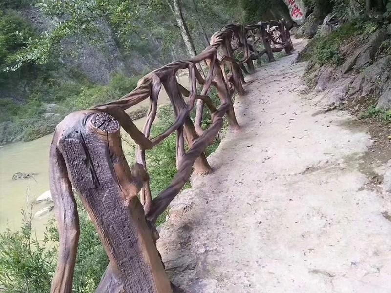 仿藤木栏杆