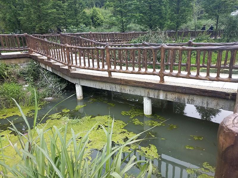 河道仿木栏杆