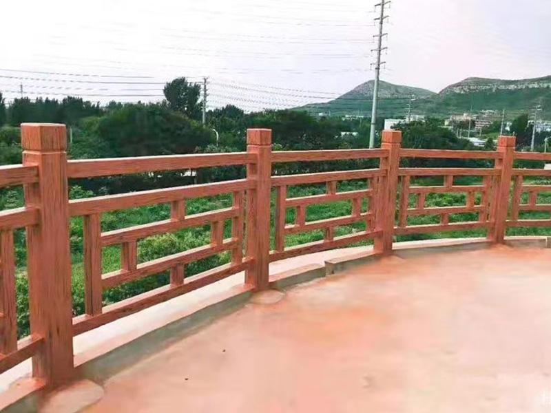 景观仿木栏杆
