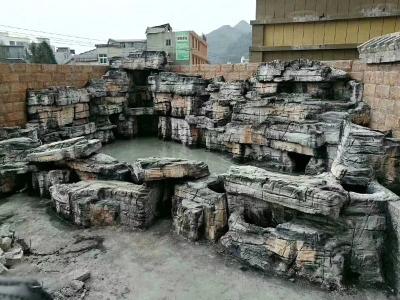 水泥塑石假山多少钱一平方