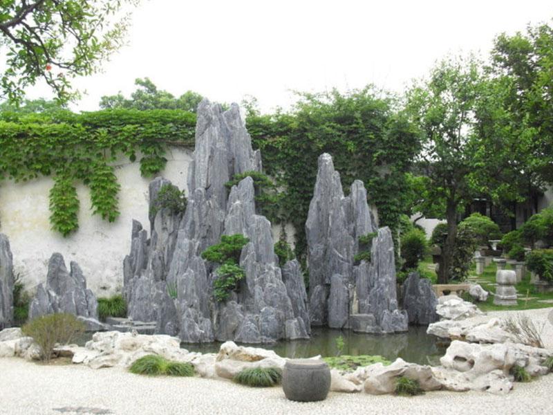 生态园林塑石假山