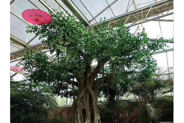 仿真树塑木